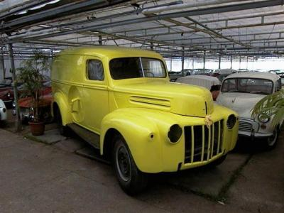 1947 Pick-up trucks Ford Panel truck