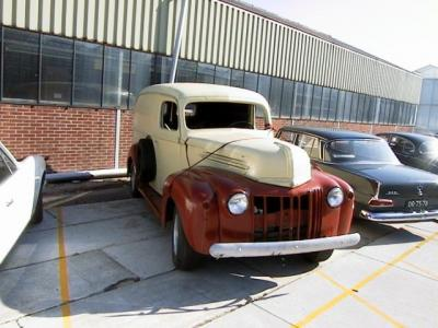 1946 Pick-up trucks Ford Panel truck 1946