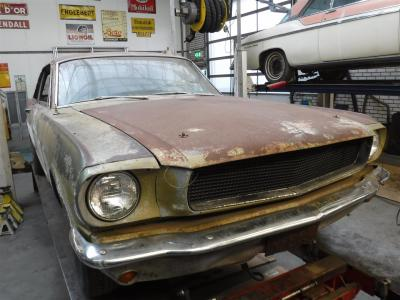 1965 Ford Mustang A code 1965