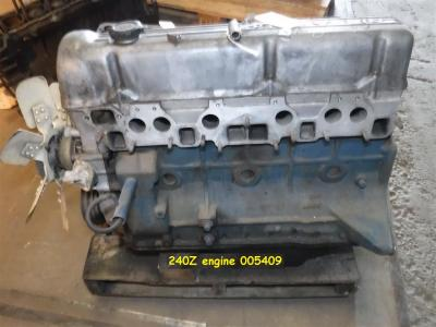 1970 Datsun parts 240Z engine 005409
