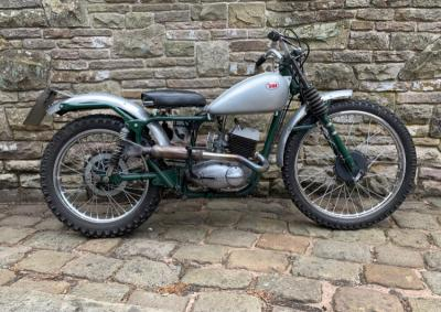 1957 BSA Bantam D3 150 Trials
