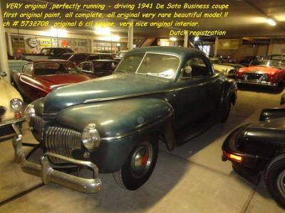 1941 De Soto Business Coupe