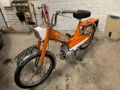 1974 Mobylette 50cc Moped