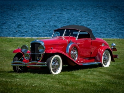 1929 Duesenberg Model J-268 Convertible Coupe