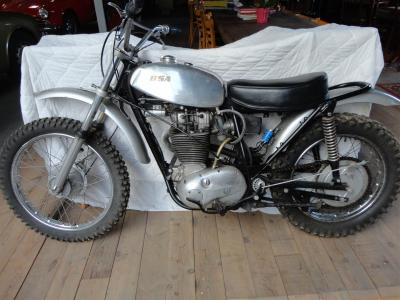 1971 BSA B 50 T trial bike