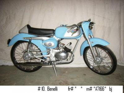 1955 Benelli Moped #1