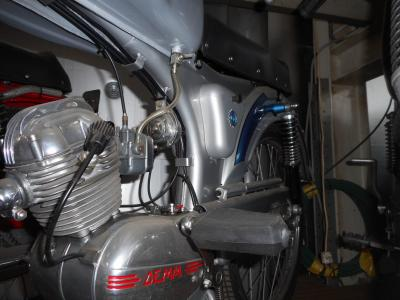 1960 Demm moped no 10