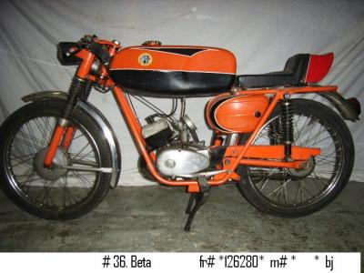 1965 Beta Moped
