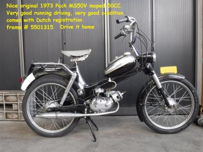 1973 Puch MS 50 V